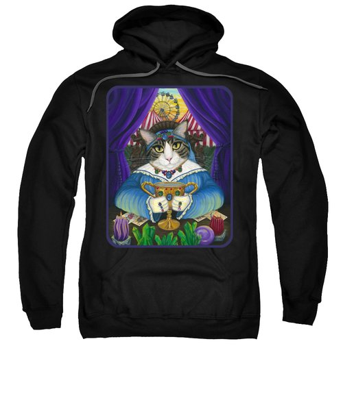Madame Zoe Teller Of Fortunes - Queen Of Cups Sweatshirt