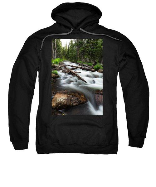Sweatshirt featuring the photograph Magic Mountain Stream by James BO Insogna
