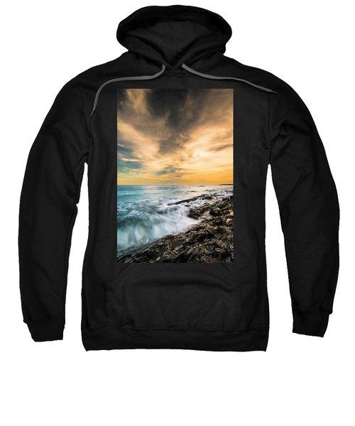 Maine Rocky Coastal Sunset Sweatshirt