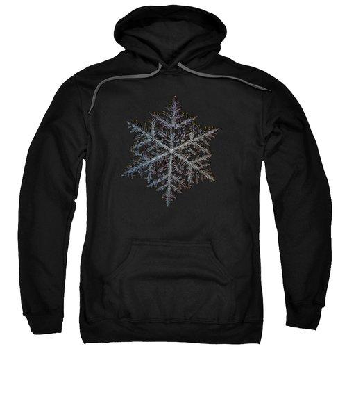 Majestic Crystal, Black Version Sweatshirt by Alexey Kljatov