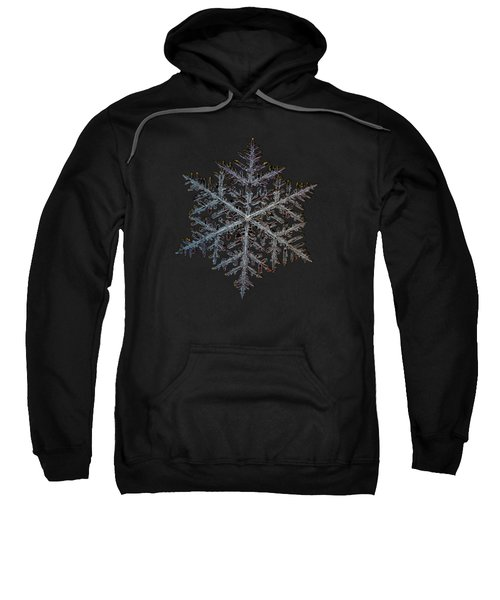 Majestic Crystal, Black Version Sweatshirt