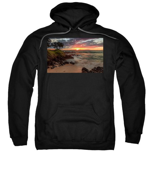 Maluaka Beach Sunset Sweatshirt