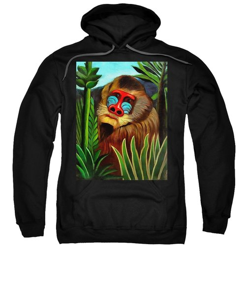 Mandrill In The Jungle Sweatshirt