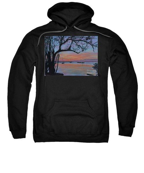 Marsh Harbour At Sunset Sweatshirt