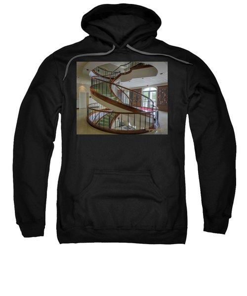 Marttin Hall Spiral Stairway 2 Sweatshirt