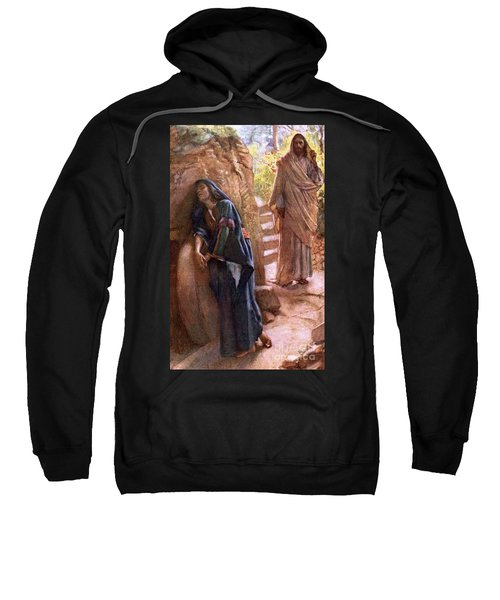 Mary Magdalene At The Sepulchre Sweatshirt