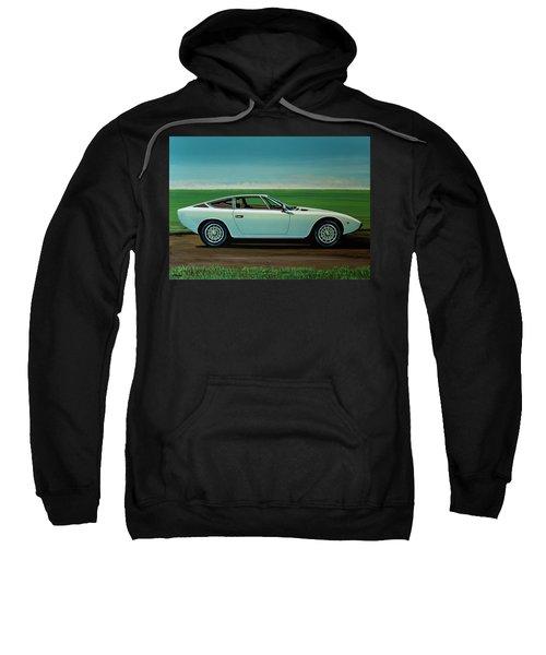 Maserati Khamsin 1974 Painting Sweatshirt