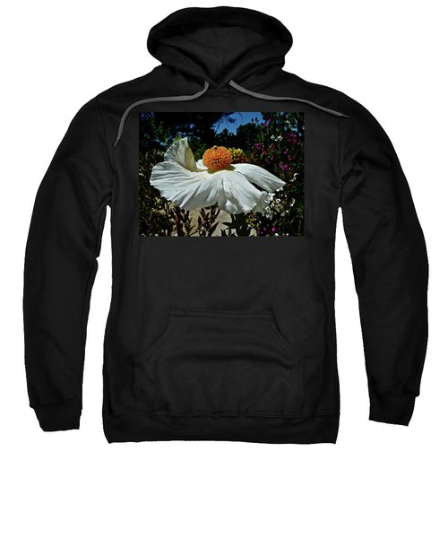 Matilija Poppy Two Sweatshirt