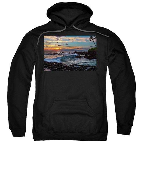 Maui Sunset At Secret Beach Sweatshirt