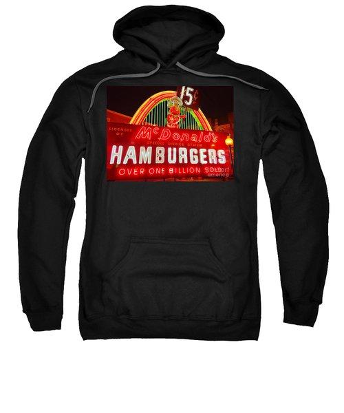Mcdonald's Historical Neon Sweatshirt