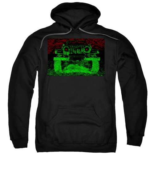 Mean Green Machine Sweatshirt