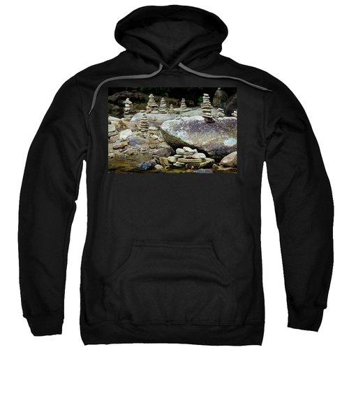 Memorial Stacked Stones Sweatshirt