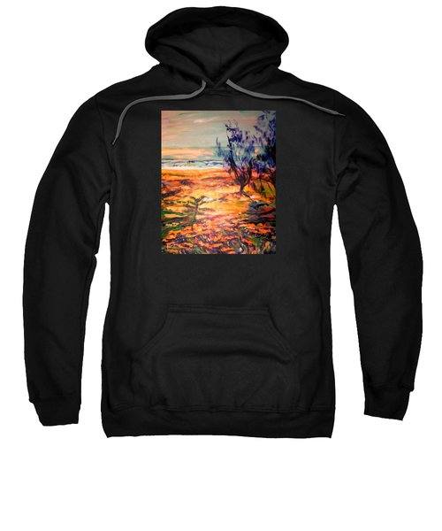 Sweatshirt featuring the painting Memory Pandanus by Winsome Gunning