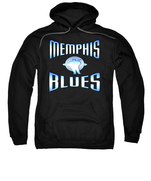 Memphis Blues Music Design Sweatshirt