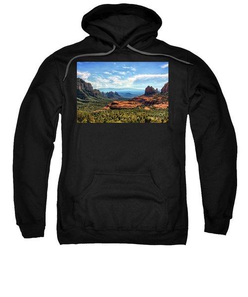 Merry Go Round Arch, Sedona, Arizona Sweatshirt