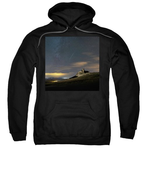 Meteors Above The Fortress Sweatshirt