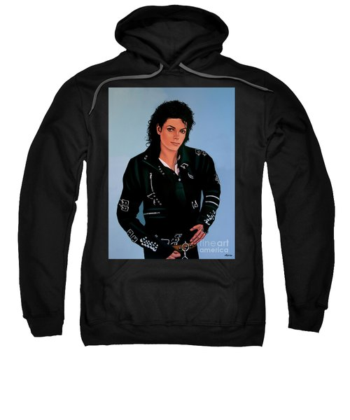 Michael Jackson Bad Sweatshirt by Paul Meijering