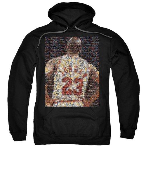 Michael Jordan Card Mosaic 2 Sweatshirt