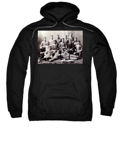 Michigan Wolverine Football Heritage 1890 Sweatshirt by Daniel Hagerman