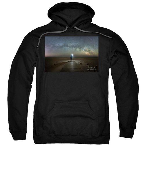 Midnight Explorer At Assateague Island Sweatshirt
