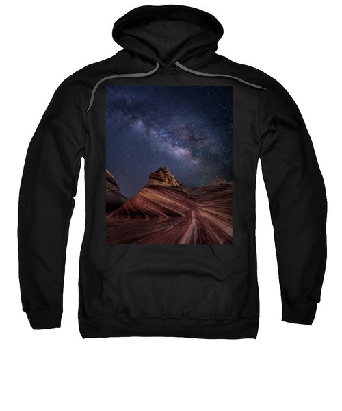 Milky Way And The Wave Sweatshirt