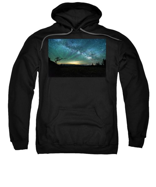 Milky Way Rising Sweatshirt
