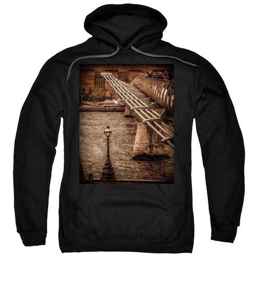 London, England - Millennium Bridge Sweatshirt