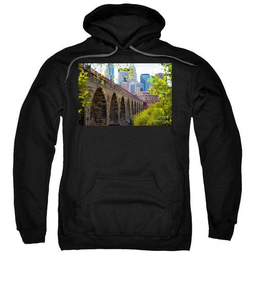 Minneapolis Stone Arch Bridge Photography Seminar Sweatshirt