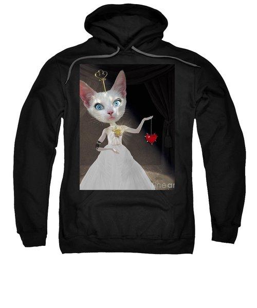 Miss Kitty Sweatshirt by Juli Scalzi