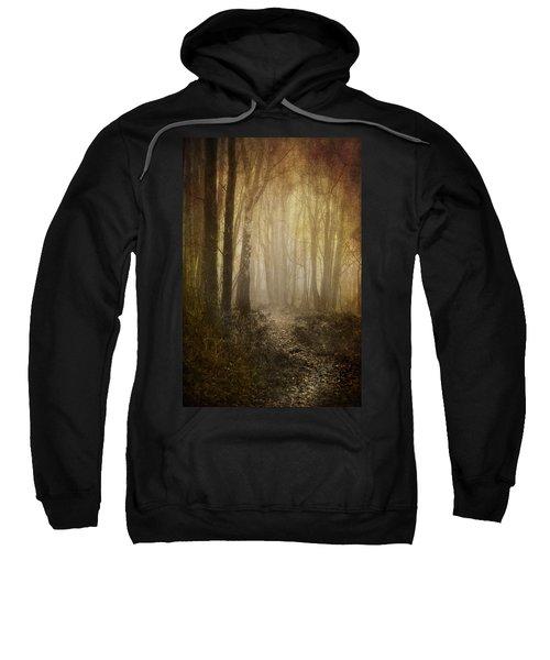Misty Woodland Path Sweatshirt
