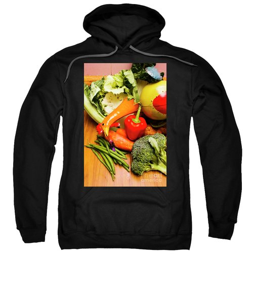 Mix Of Agriculture Produce Sweatshirt