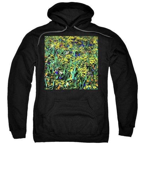 Mixed Flower Garden 515 Sweatshirt