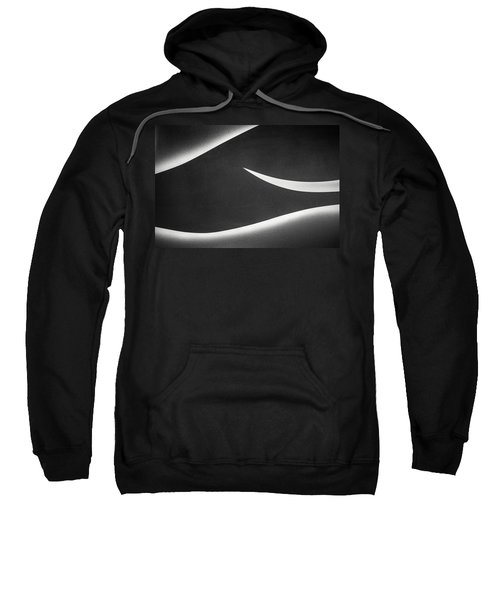 Monochrome Abstract Sweatshirt
