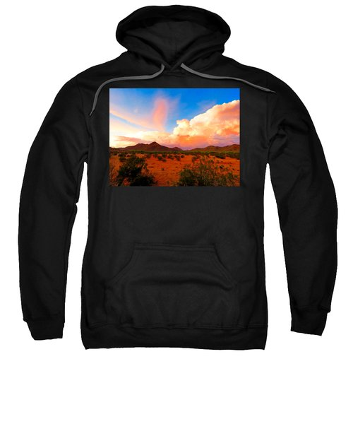 Monsoon Storm Sunset Sweatshirt