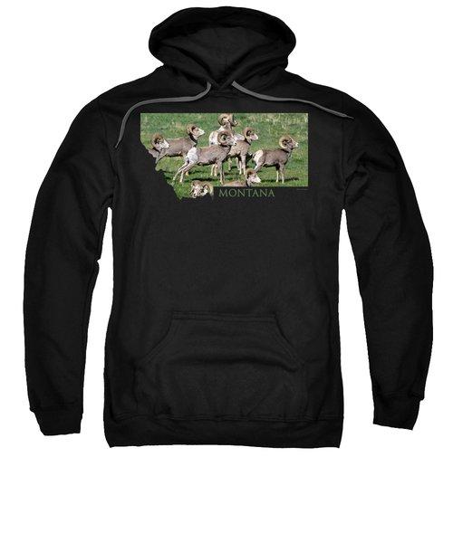 Montana -bighorn Rams Sweatshirt