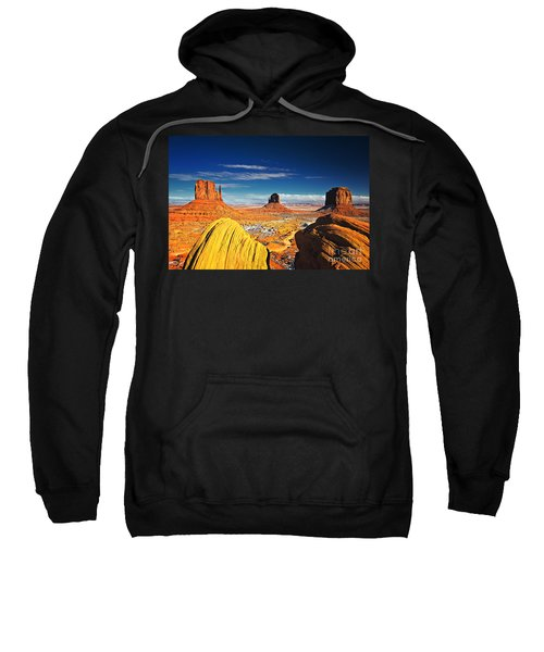 Monument Valley Mittens Utah Usa Sweatshirt