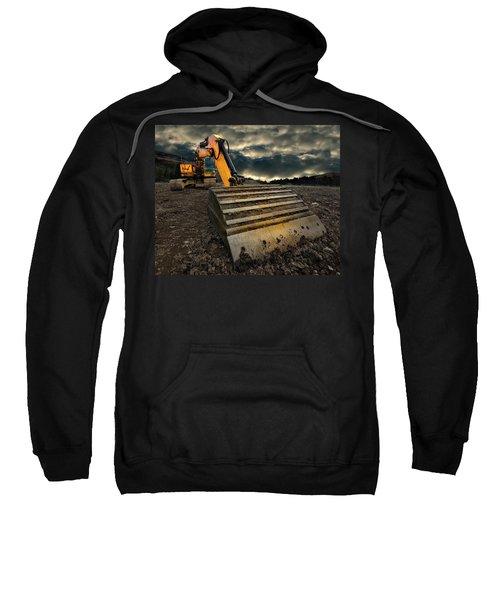 Moody Excavator Sweatshirt