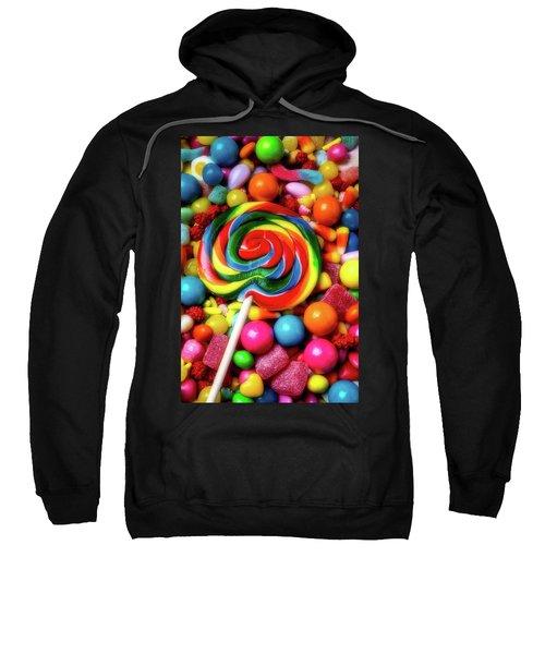 Moody Sucker And Candy Sweatshirt