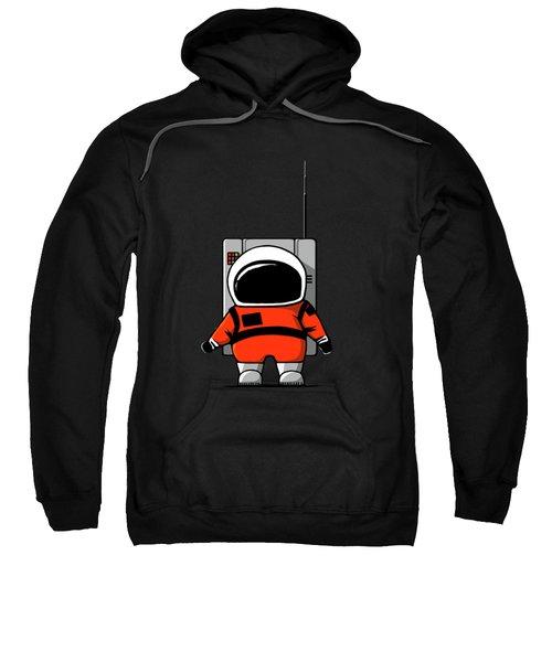Moon Man Sweatshirt by Nicholas Ely