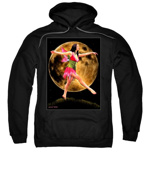 Moonlight Stroll Of A Fairy Sweatshirt