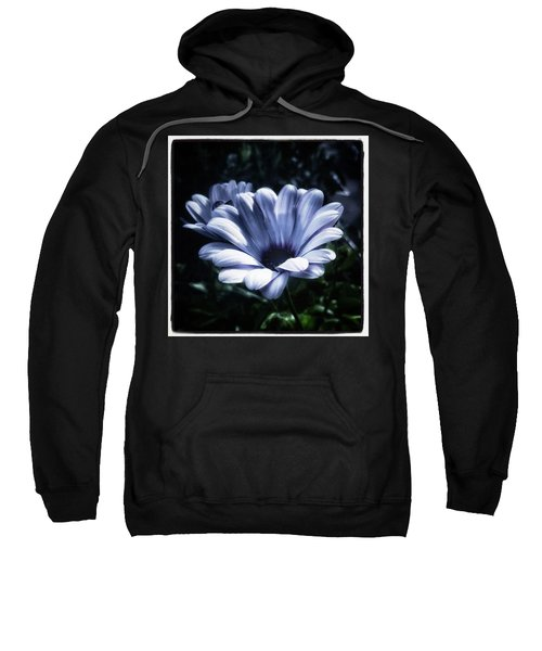 Sweatshirt featuring the photograph Moonlit Petals. From The Beautiful by Mr Photojimsf