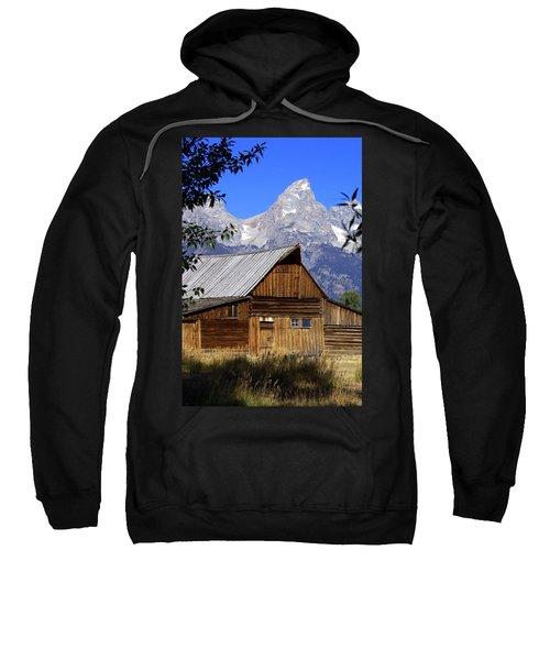 Mormon Row Barn  1 Sweatshirt