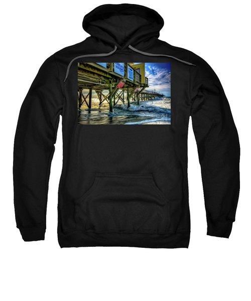 Morning Sun Under The Pier Sweatshirt