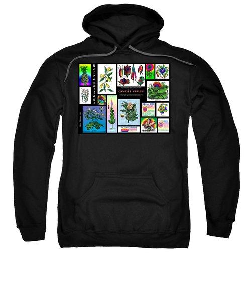 Mosaic Of Retrocollage II Sweatshirt