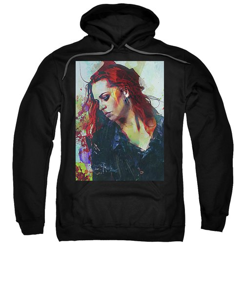 Mostly- Abstract Portrait Sweatshirt