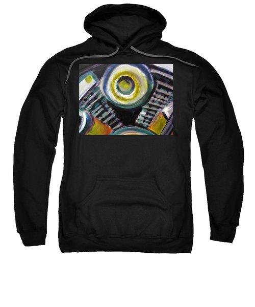 Motorcycle Abstract Engine 2 Sweatshirt