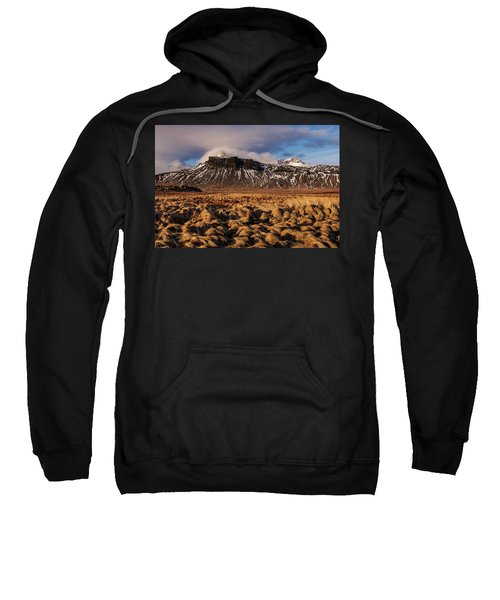 Mountain And Land, Iceland Sweatshirt