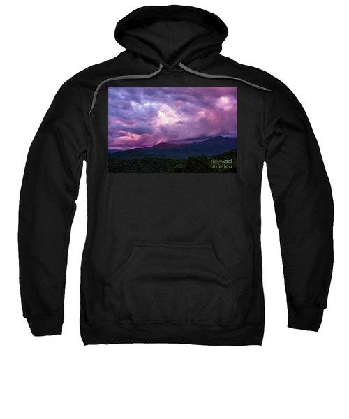 Mountain Sunset In The East Sweatshirt