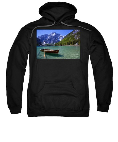 Mountains And Clear Lake Sweatshirt