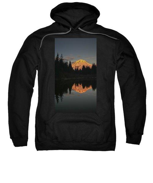 Mt Hood Alpenglow II Sweatshirt